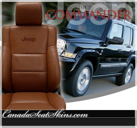 Jeep Commander Custom Leather Seats