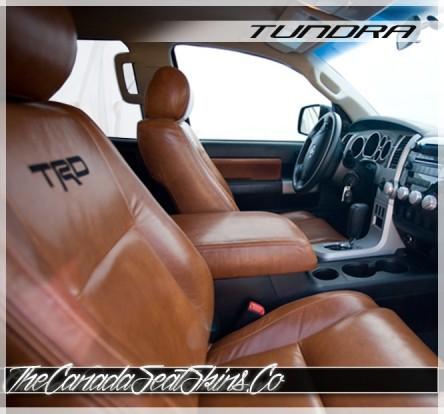 2007 - 2013 Toyota Tundra Katzkin Custom Leather Seat Sale