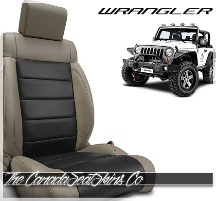 2007 - 2012 Jeep Wrangler Katzkin Custom Leather Seat Sale