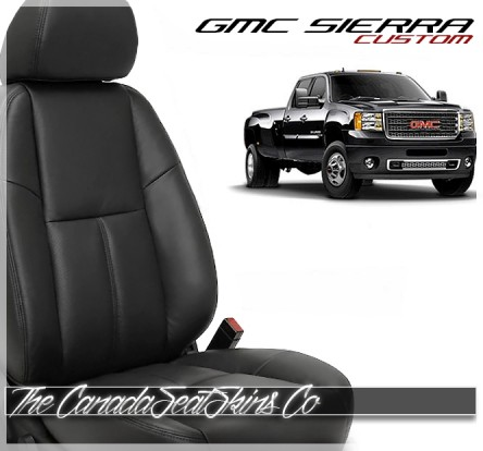 2007 - 2013 GMC Sierra Katzkin Custom Leather Seat Cover Sale
