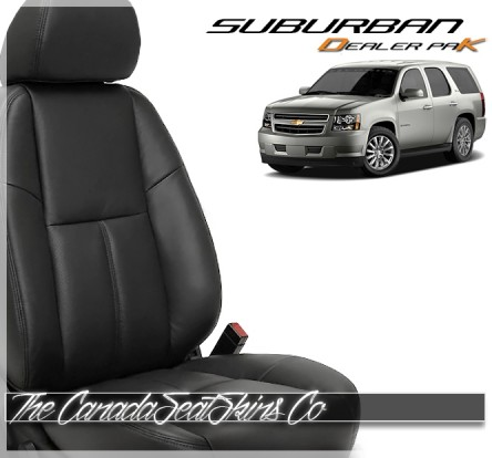 2007 - 2014 Chevrolet Suburban Dealer Pak Leather Seat Replacement Kits