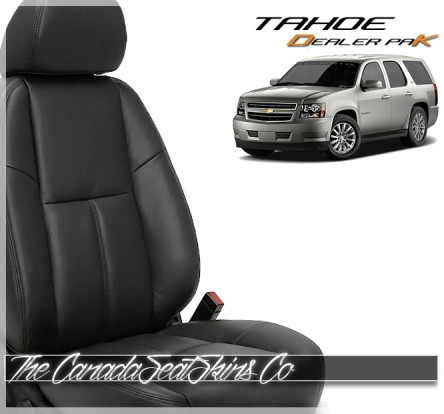 2007 - 2014 Chevrolet Tahoe Dealer Pak Replacement Leather Upholstery Kits