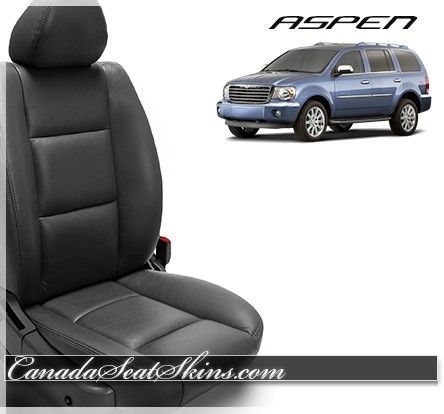2007 - 2009 Chrysler Aspen Katzkin Leather Seats