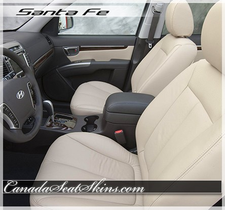 2007 - 2012 Hyundai Santa Fe Katzkin Leather Seats