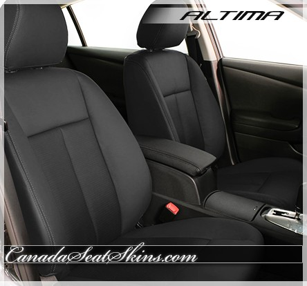2007 - 2012 Nissan Altima Black Leather Seats