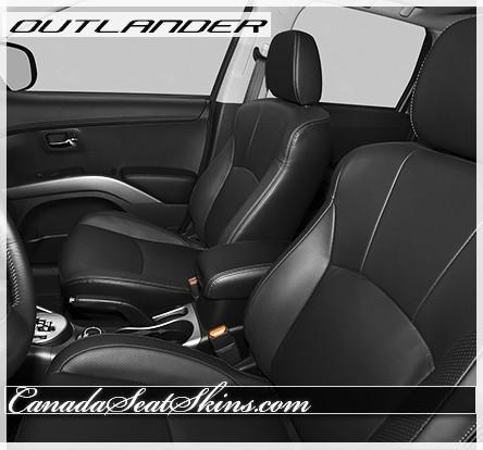 2007 - 2013 Mitsubishi Outlander Katzkin Leather Interiors