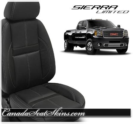 2007 - 2013 GMC Sierra Katzkin Black Carbon Limited Edition Interior