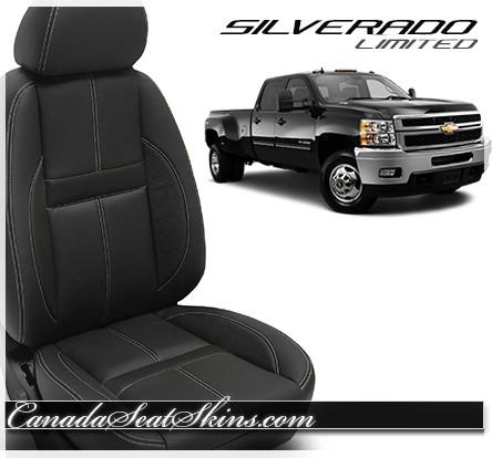 2007 - 2013 Silverado Katzkin Black Carbon Limited Edition Interior