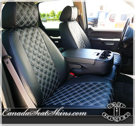 High Quality ... 2007   2013 Chevrolet Silverado Clazzio Seat Covers Quilted ...