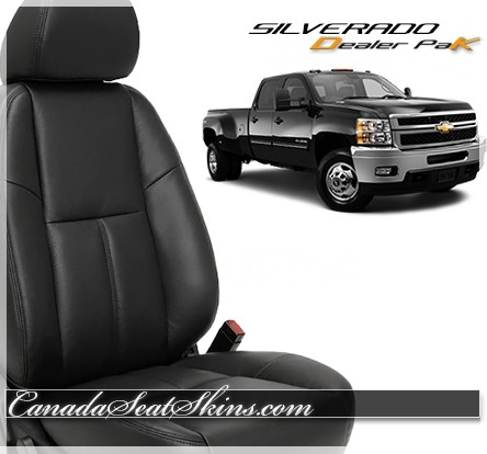 2007 - 2013 Chevrolet Silverado Leather Seat Cover Kits