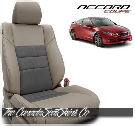 2008 - 2012 Honda Accord Coupe Custom Katzkin Leather Seat Sale