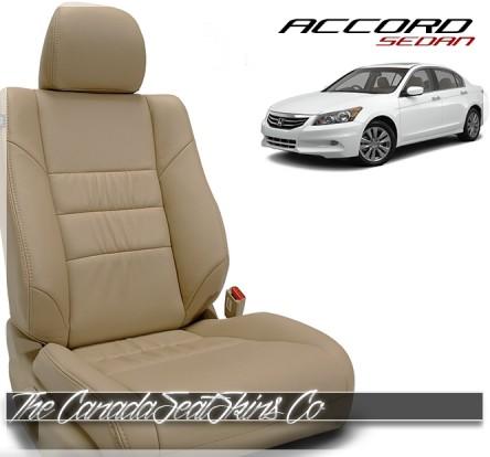2008 - 2012 Honda Accord Sedan Katzkin Custom Leather Seat Sale