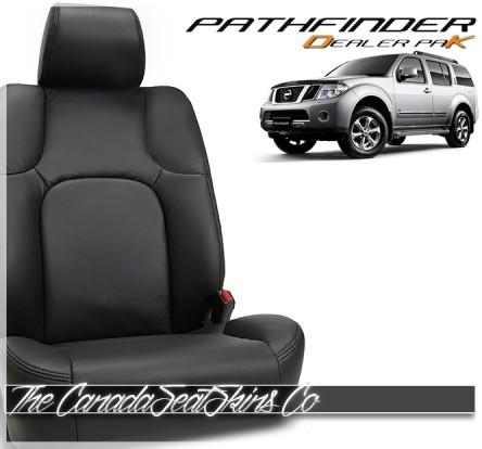2010 - 2012 Nissan Pathfinder Dealer Pak Leather Seat Conversion Promotion
