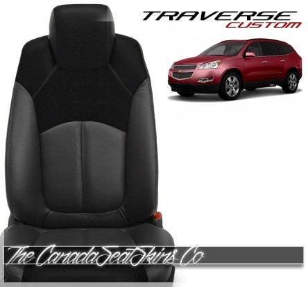 2007 - 2017 Chevrolet Traverse Custom Katzkin Leather Seat Sale