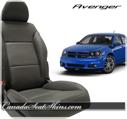 2008 - 2010 Dodge Avenger Katzkin Grey Leather Interior