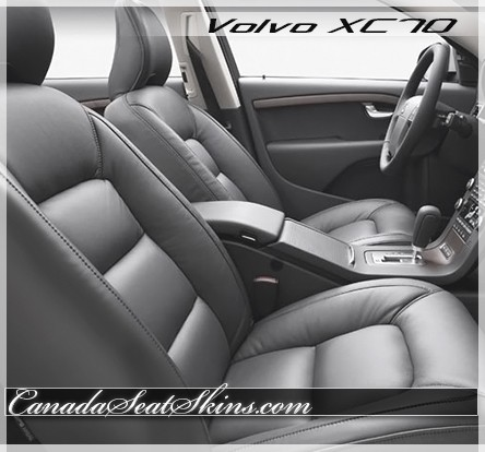 2008 - 2012 Volvo XC70 Katzkin Leather Upholstery