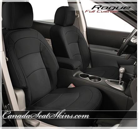 2008 - 2013 Nissan Rogue Katzkin Leather Seats