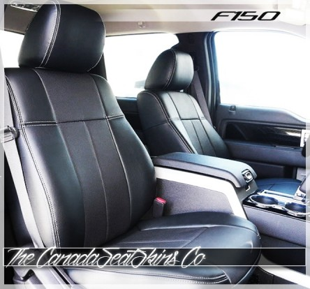 2009 - 2014 Ford F150 Commercial Fleet Series Fitted Seat Covers