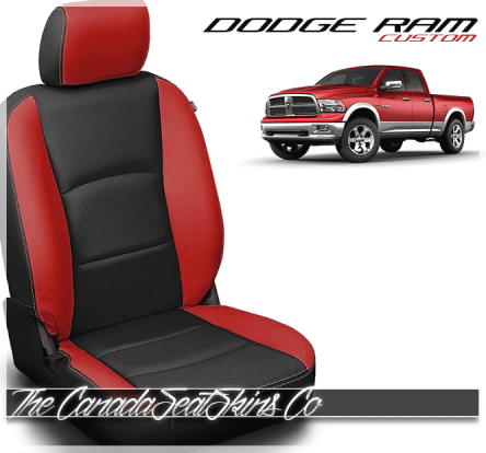 2009 - 2021 Dodge Ram DS Katzkin Custom Leather Seat Kits