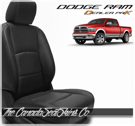 2008 - 2018 Dodge Ram Dealer Pak Leather Seat Conversion Kit
