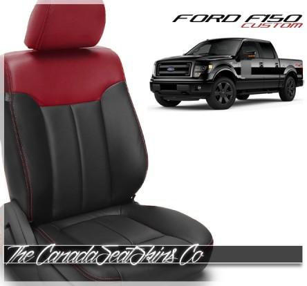 2012 - 2014 Ford F150 XLT FX4 Custom Leather Seats