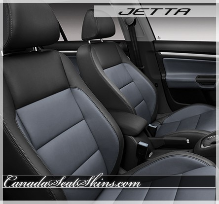 2009 - 2010 Volkswagen Jetta Sky Blue Leather Seats