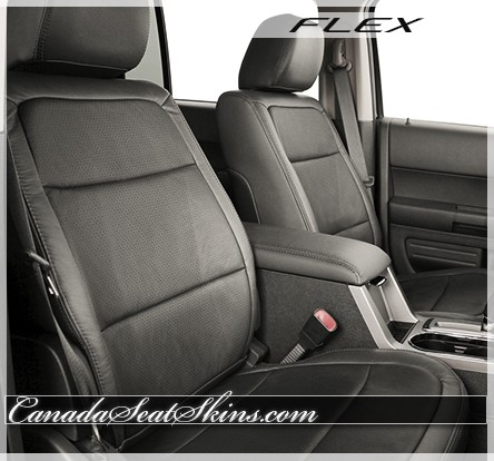 2009 - 2012 Ford Flex Katzkin Charcoal Leather Seats