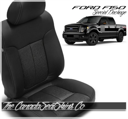 2009 - 2014 Ford F150 Black Outlaw Edition Leather Seats