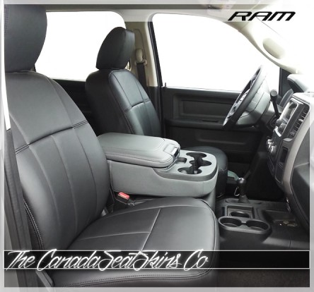 2009 - 2018 Dodge Ram Heavy Duty Clazzio Commercial Seat Covers