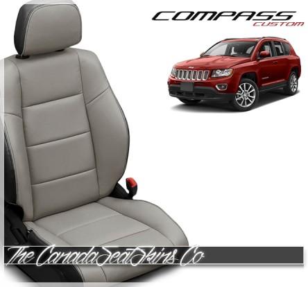 2010 - 2017 Jeep Compass Katzkin Custom Leather Seat Sale