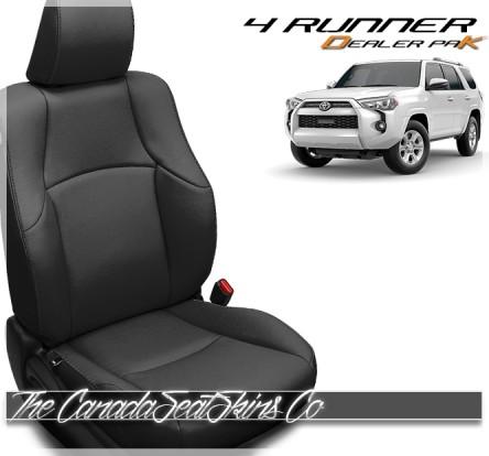 2010 - 2021 Toyota 4runner Black Dealer Pak Leather Seats