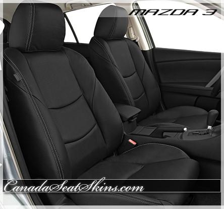 2010 2013 Mazda 3 Custom Leather Upholstery