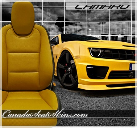 ... 2010   2015 Chevrolet Camaro Maize Yellow Leather Faces ...
