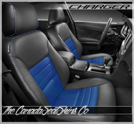 2011 - 2014 Dodge Charger SE SXT Custom Katzkin Leather Seats