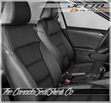 2011 - 2018 Volkswagen Jetta Leather Seat Cover Upholstery Conversion Kit