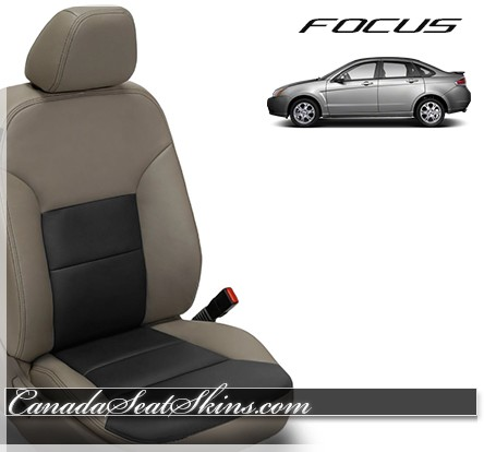 2010 - 2011 Ford Focus Katzkin Leather Seats