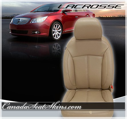 2010 - 2013 Buick Lacrosse Katzkin Custom Leather Seats