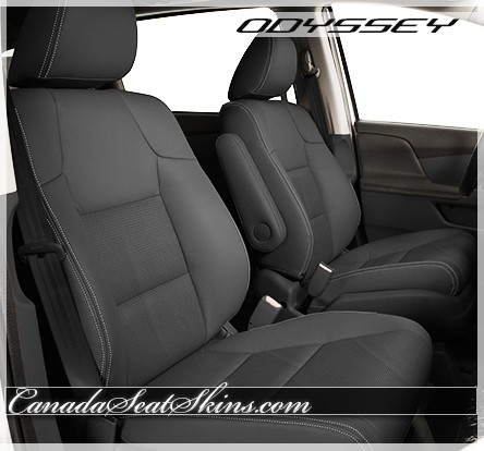 2011 - 2015 Honda Odyssey Ash Leather Interior