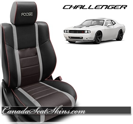 Dodge Challenger Foose Katzkin Limited Edition Leather Interior Red
