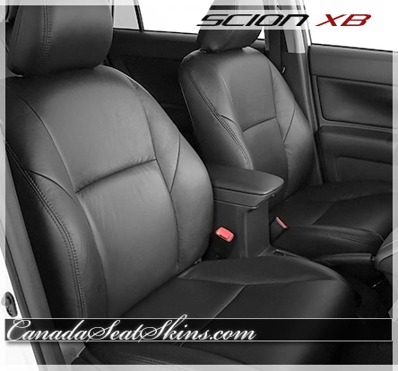 2011 - 2016 Scion XB Black Leather Seats