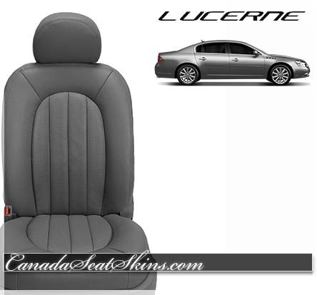 2006 - 2011 Buick Lucerne Katzkin Charcoal Leather Seats