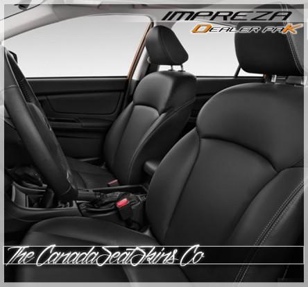 2012 - 2016 Subaru Impreza Black Dealer Pak Leather Kit Promotion