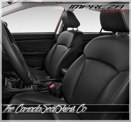 2012 - 2016 Subaru Impreza Katzkin Custom Leather Seat Sale