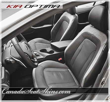 2012 - 2016 Kia Optima Hybrid Katzkin Leather Seats