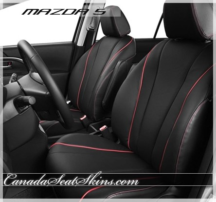2012 - 2015 Mazda 5 Katzkin Leather Seats