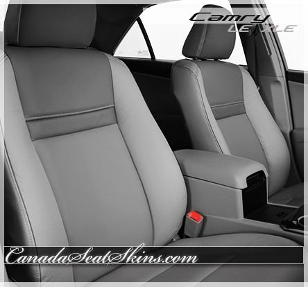 2012 - 2014 Toyota Camry LE Custom Grey Leather Seats