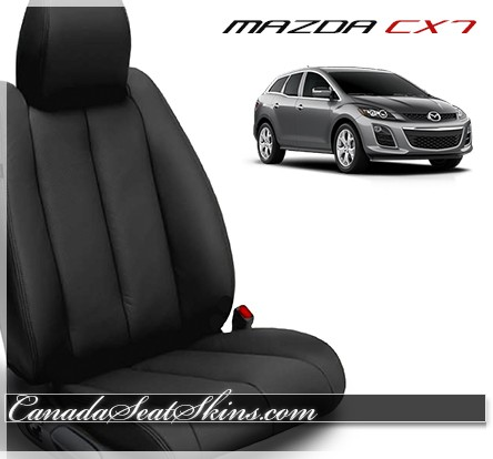 2007 - 2012 Mazda CX7 Katzkin Black Leather Seats