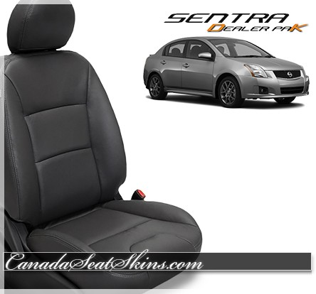 2007 - 2012 Nissan Sentra Leather Seat Covers