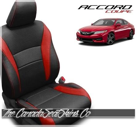 2013 - 2017 Honda Accord Coupe Custom Katzkin Leather Seat Sale