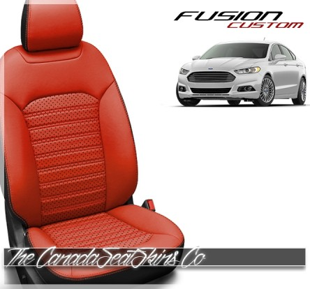 2013 - 2020 Ford Fusion Katzkin Custom Leather Seat Sale